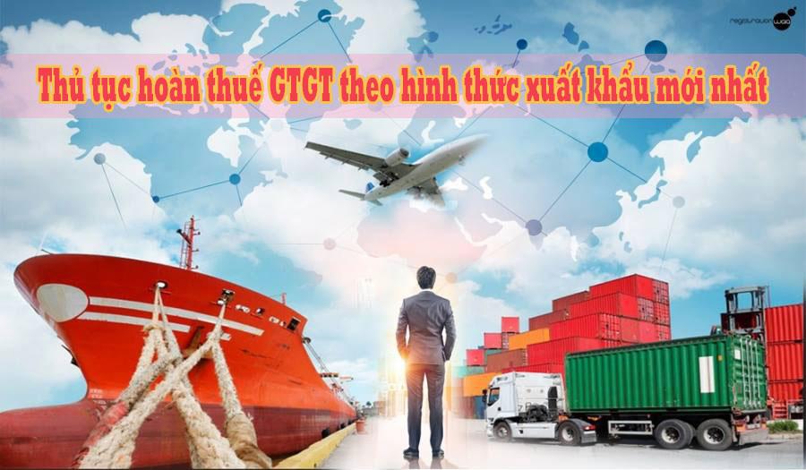 hoàn thuế GTGT theo hình thức xuất khẩu 1