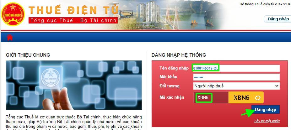 đăng ký mã số thuế online