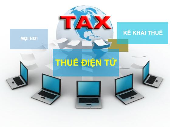 Kê khai thuế qua mạng