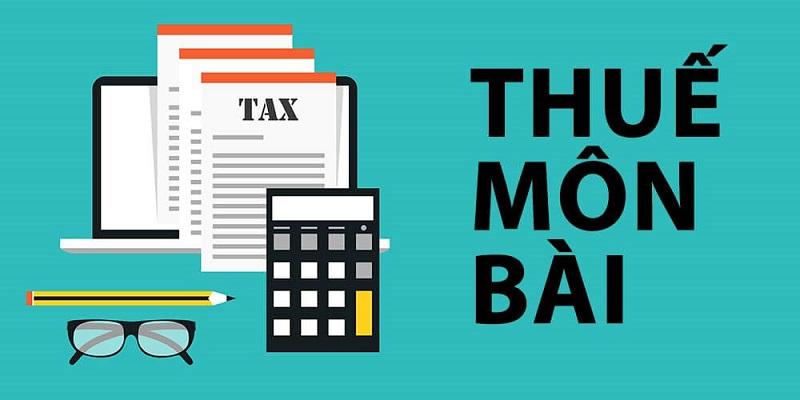 Hạch toán thuế môn bài