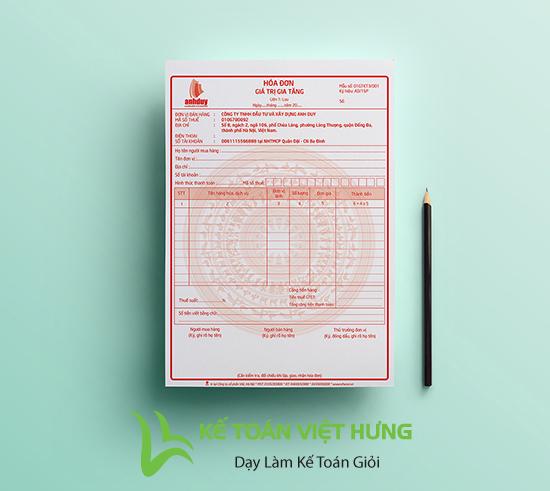 xử lý hóa đơn viết sai