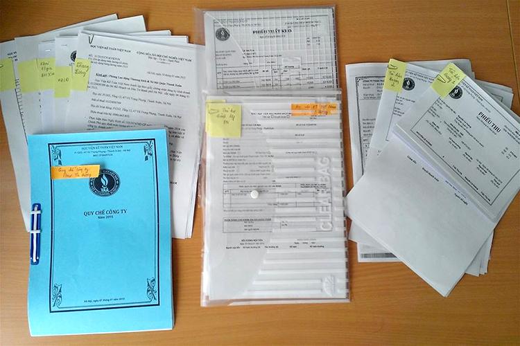 hệ thống chứng từ kế toán hành chính sự nghiệp