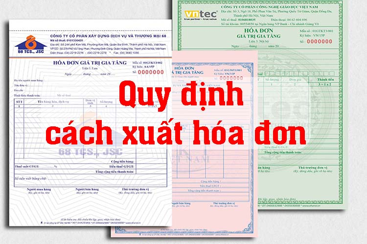 cách xuất hóa đơn