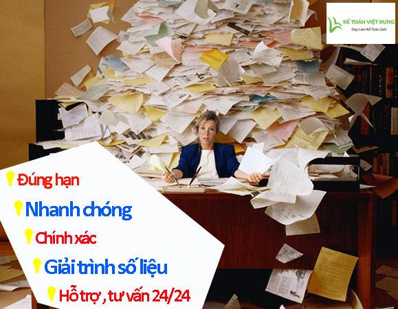dọn dẹp sổ sách kế toán