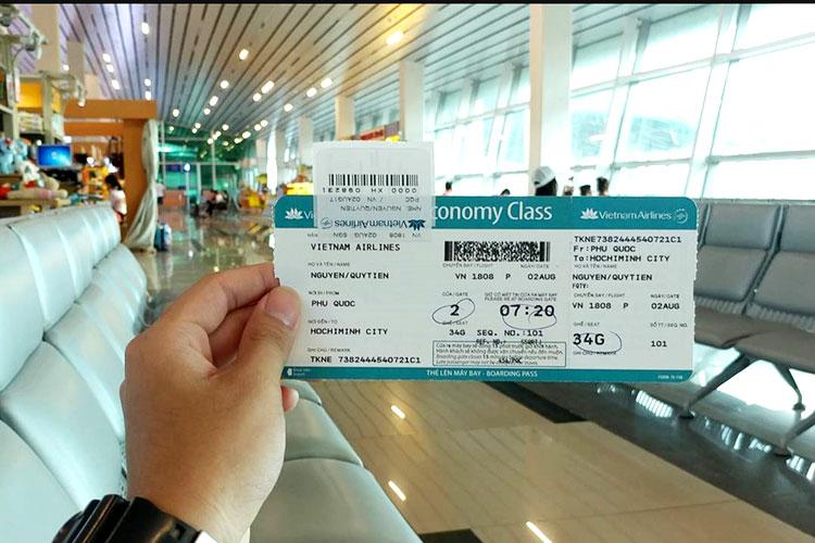 chi phí vé máy bay hợp lệ
