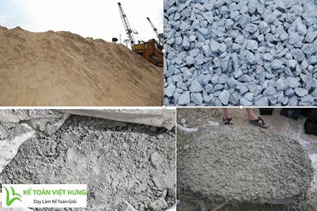 học kế toán tổng hợp sản xuất bê tông tươi