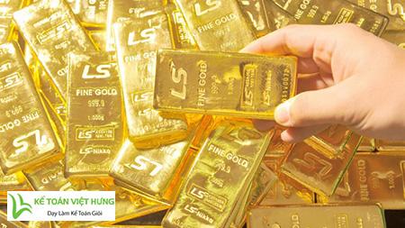học kế toán tổng hợp vàng bạc
