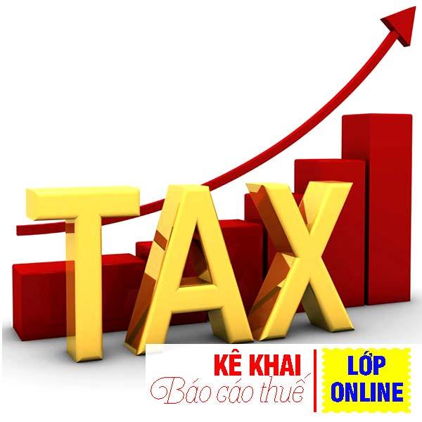 kê khai báo cáo thuế