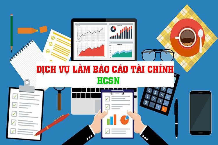 dịch vụ làm báo cáo tài chính năm