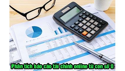 khóa học phân tích báo cáo tài chính