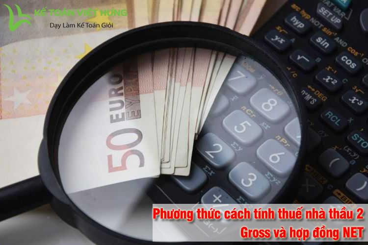 cách tính thuế nhà thầu