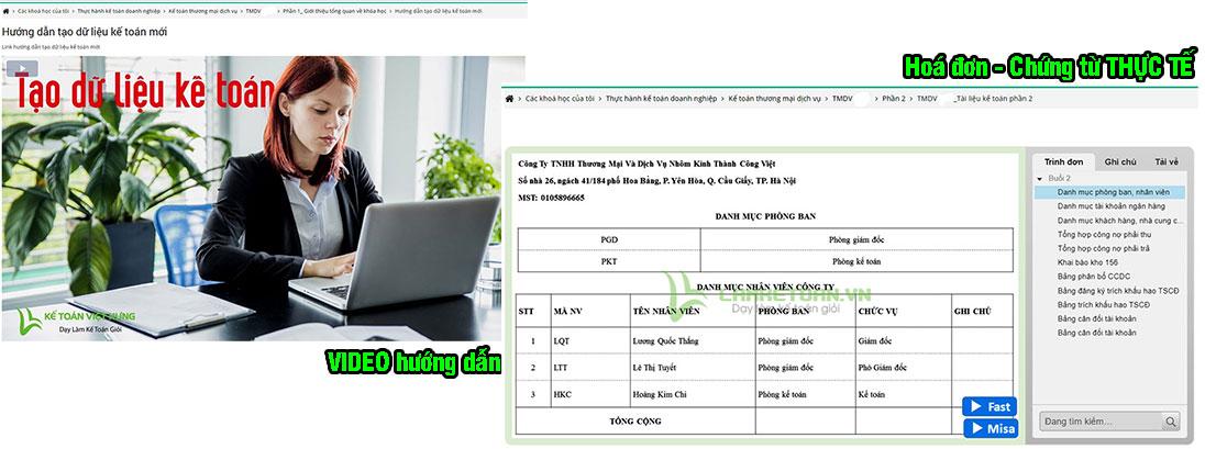 kế toán dành cho giám đốc online