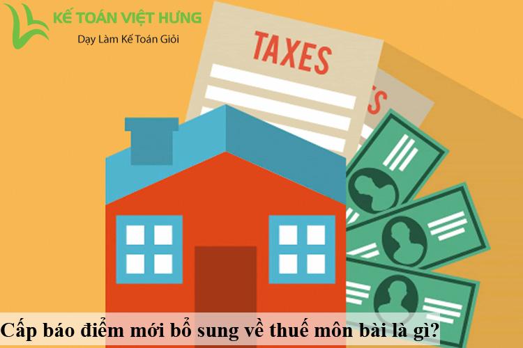 thuế môn bài 2020