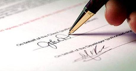 mẫu lời chứng thực chữ ký