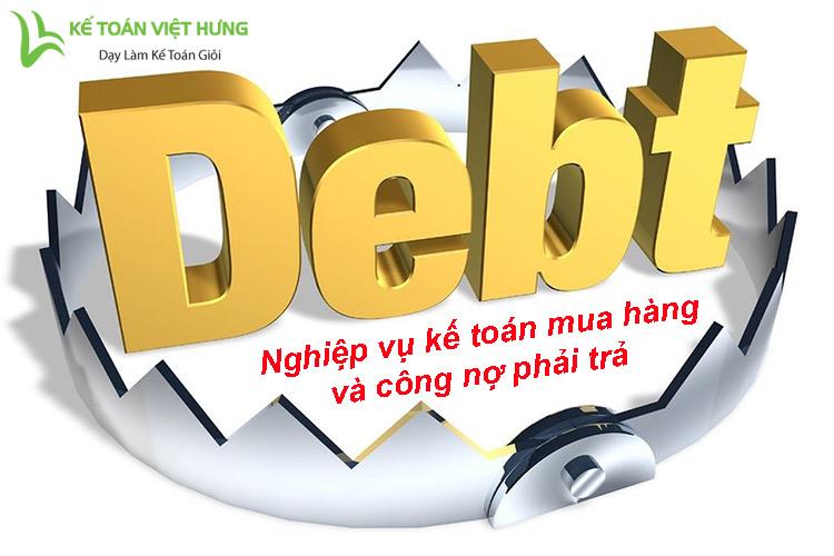 kế toán mua hàng và công nợ phải trả