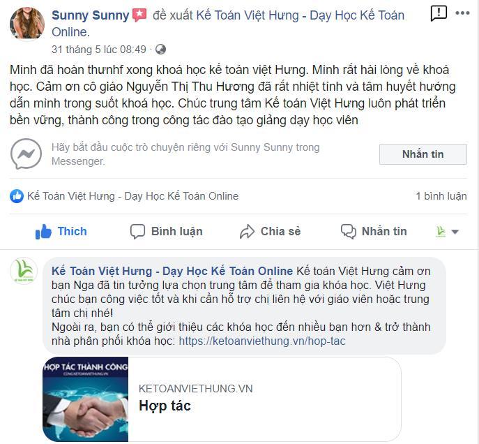 T6. Học Viên Phạm Quỳnh Nga 85 ở quảng ninh học bệnh viện tư nhân gv Nguyễn Thị Thu Hương
