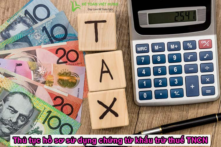 chứng từ khấu trừ thuế tncn