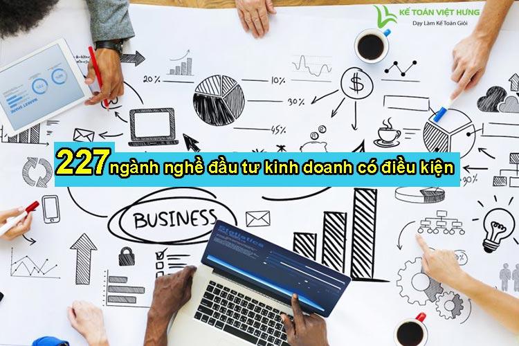 ngành nghề đầu tư kinh doanh có điều kiện
