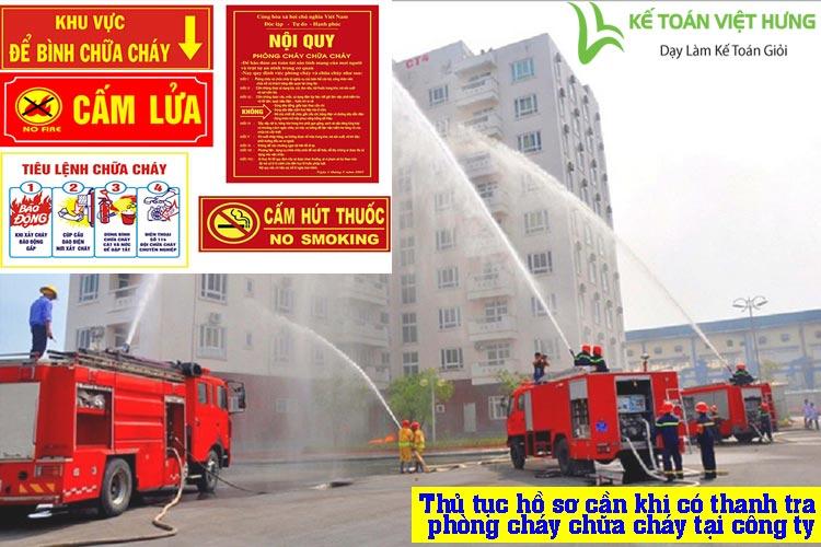 phòng cháy chữa cháy tại công ty