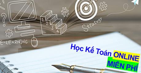 học kế toán tổng hợp online miễn phí