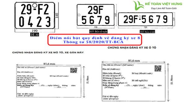 quy định về đăng ký xe