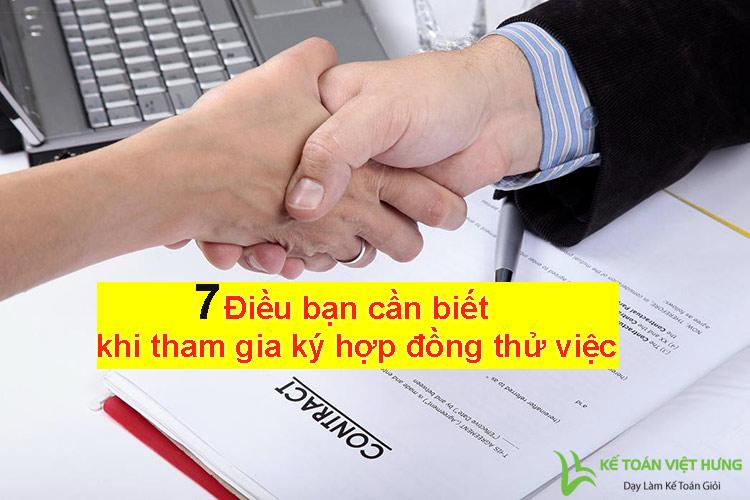 hợp đồng thử việc