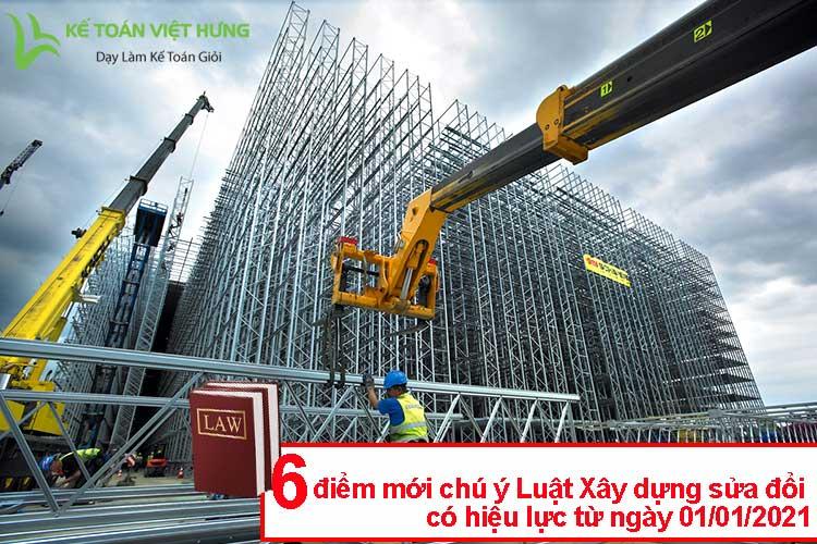 luật xây dựng sửa đổi