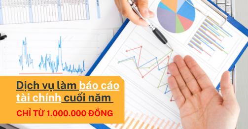 dịch vụ làm báo cáo tài chính cuối năm online