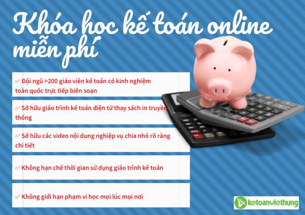 lý do học kế toán online miễn phí