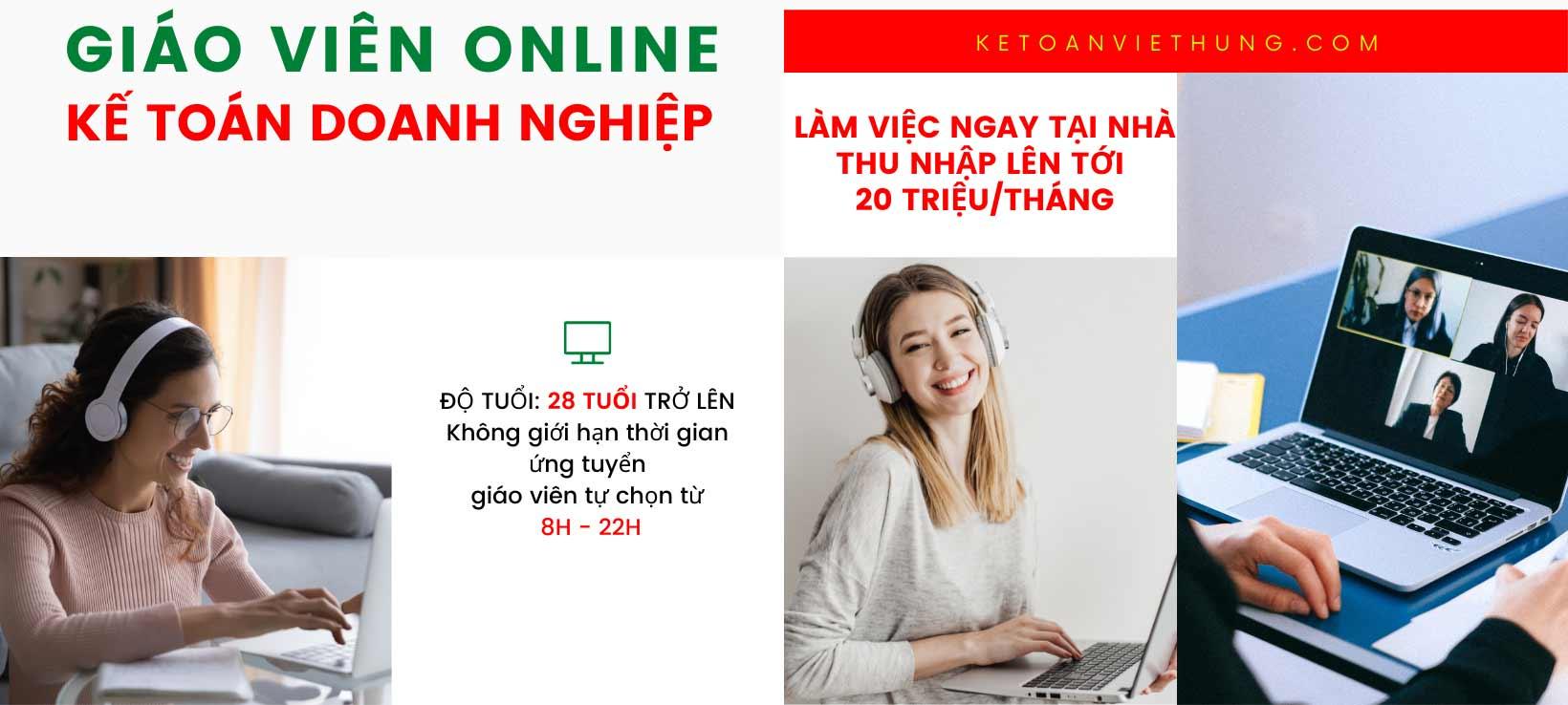 tuyển dụng online tại nhà