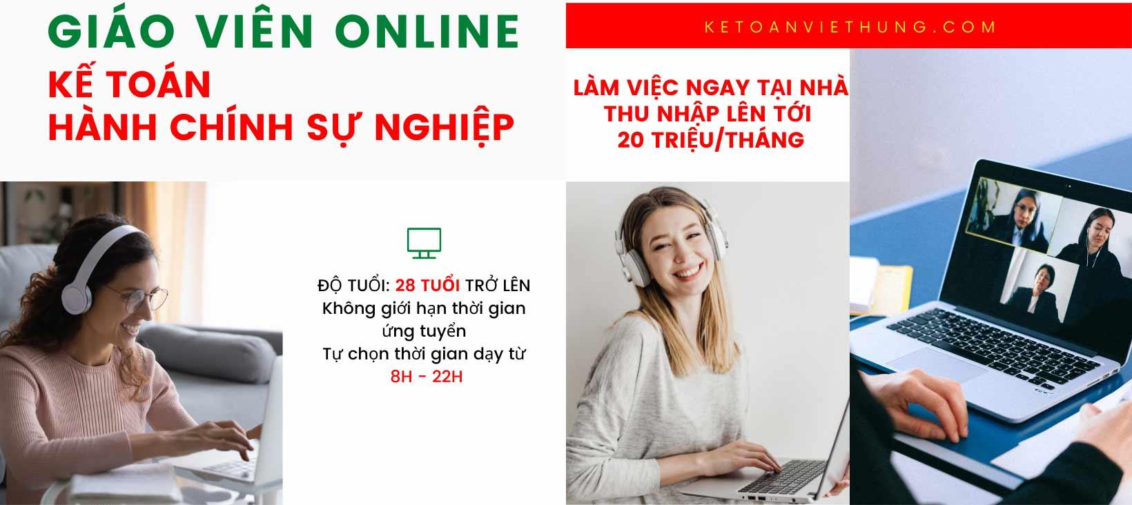tuyển dụng giáo viên online