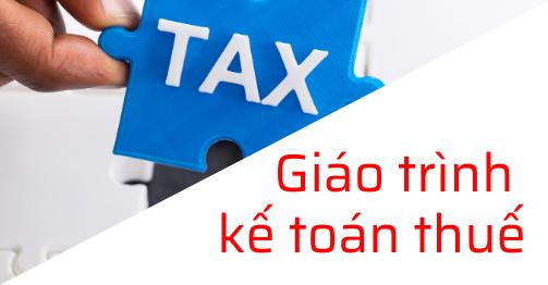 giáo trình kế toán thuế online