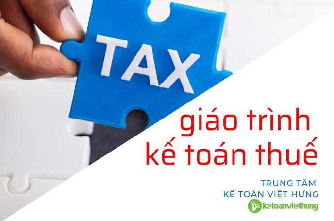 giáo trình kế toán thuế