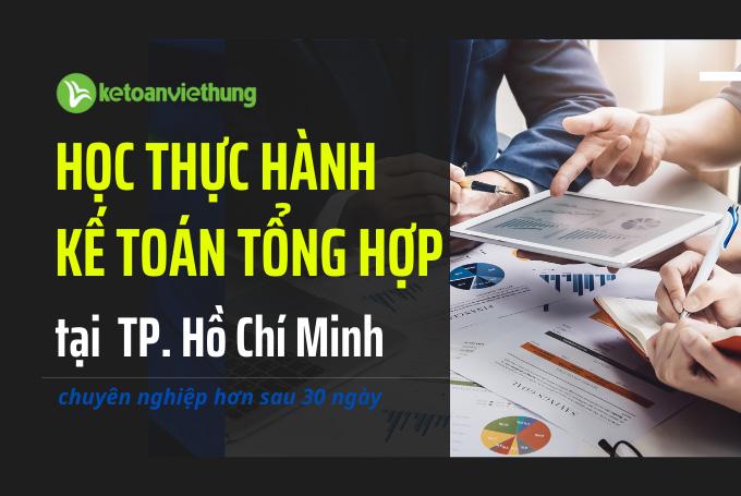 học kế toán thực hành tổng hợp tphcm