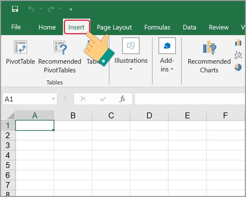 Cách chèn file PDF vào Excel - ảnh 1